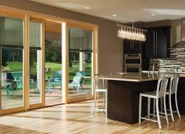 center hinged patio doors. Pella Designer Sliding Patio Doors With Blinds Center Hinged I