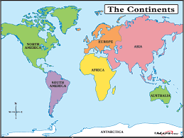 World Map Europe And Asia Map Europe Africa South America North America Antarctica Asia Very
