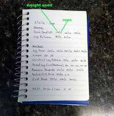 Work Out Journal Workout Journal 101