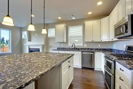 Topic Related to White Kitchen Cabinets With Dark Countertops Smith Design  Cool Q
