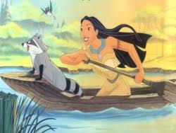 Image result for disney pocahontas canoeing