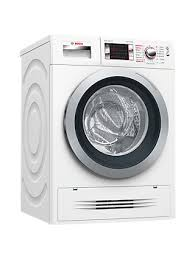 bosch washer dryer. Bosch WVH28424GB Washer Dryer, 7kg Wash/4kg Dry Load, A Energy Rating, 1400rpm Spin, White Dryer U
