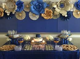 Blue And Gold Table Setting 17 Best Ideas About Gold Dessert Table 2017 On Pinterest Dessert