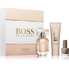 Hugo Boss Boss The Scent For Her Edp 30 Ml Tělové Mléko 50 Ml Lak Na Nehty 45 Ml