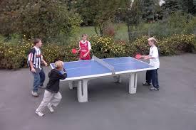 best outdoor table tennis australia designs
