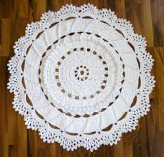 Free Crochet Rug Patterns Magnificent Giant Crochet Doily Rug Pattern Best Ideas Video Tutorial