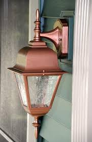 copper exterior light fixtures lighting designs