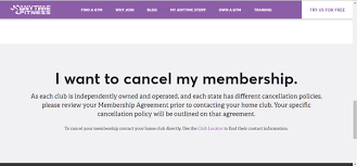 Why Can T We Cancel A Membership With Anytime Fitness Quora