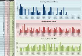 2016 Triathlon Training Log Tri More Fitness