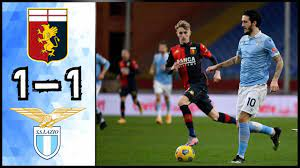 Genoa CFC 1 - 1 SS Lazio | Highlights