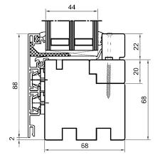 Detailzeichnungen Holz Alufenster Duoline 68 Fensterblickde