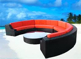 round sectional outdoor furniture eclipse modern round sectional sofa outdoor wicker patio furniture wicker sectional outdoor