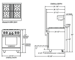 standard stove width. Unique Width Standard Stove Height Width For Cabinets Com    In Standard Stove Width E