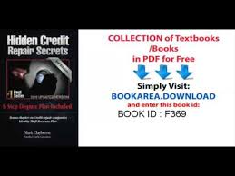 letter of despute hidden credit repair secrets step by step 6 letter dispute plan