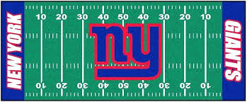 giants area rugs football field runner rug all teams ny throw