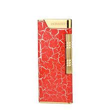 Luxury Square Honest Lighter Side <b>Jet</b> Flame Gas Lighter <b>Portable</b> ...