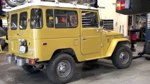 1979 Toyota Land Cruiser FJ40 For Sale by TLC - YouTube