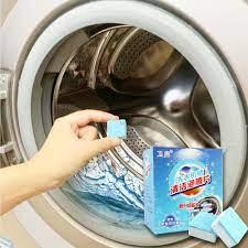 Viên Tẩy Lồng Máy Giặt Khử Sạch Cặn Bẩn, Vệ Sinh Máy Giặt Diệt Khuẩn Và Khử  Mùi Lồng Máy - Đa Năng Phù Hợp Sử Dụng Cho Nhiều Loại Máy Giặt (
