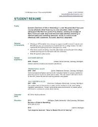 College Student Resume Example Extraordinary Nursing College Student Resume Examples Site About Template