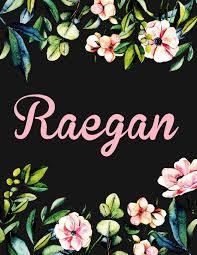 Floral Designs By Raegan Raegan Personalised Name Notebook Journpersonalised Name