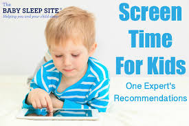 Screen Time Recommendations By Age Chart Screen Time For Kids One Experts Recommendations