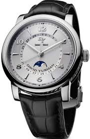 watches and watchmakers beginning letter d david yurman men s classic 43 5 moonphase watch us 5 800