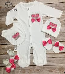 2019 MIYOCAR <b>Bling</b> Rhinestone Rose Red 0 6m Newborn Clothes ...