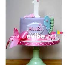 Order Baby Girl First Birthday Theme Cake Online Birthday Cake In