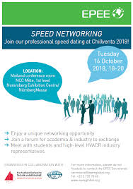 Speed Networking Chillventa 2018 Epee
