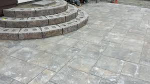 how to build a stone patio how to lay patio steps designs diy stone patio pavers