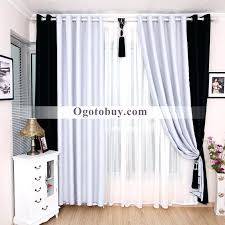 Black White And Gold Bedroom Curtains Striped Damask Grey Curtain ...