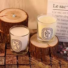 decorative scented candles white candle in glass tea light soy jars velas cumplea os infantil 35g 40ko066