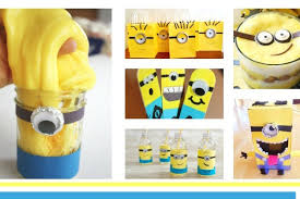 Making Minions Crafts will be loads of fun for your kids. After all, who  doesn't love the Minions? These Despicable Me characters are some of our  favorites.