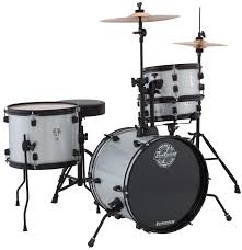 Ludwig Questlove Pocket Kit Drum Set - Silver Sparkle image 1