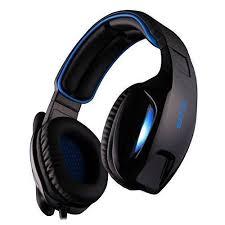 <b>Sades</b> SA-902 <b>Virtual</b> 7.1 Gaming Headset - Black/Blue for sale ...