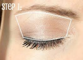 step 2 apply your dark shade only to outside corner of eye applying too much dark shadow can make eyes appear smaller by applying a small amount you