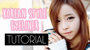 makeup collage how to korean style eyeliner tutorial make your eyes longer and wider with ulzzang
