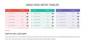 Comparison Chart Templates For Powerpoint