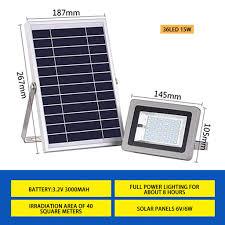 Solar Powered Flood Lights Outdoor Amazon Com Yu2d Waterproof Solar Powered