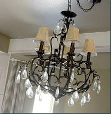 jute twine wrapped around old chandelier shades refunkmyjunk com