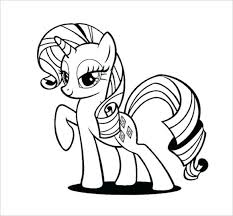 stylish page pony coloring pages stylish pony coloring page my little pony