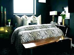 black and gold wall decor white bedroom
