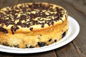 chocolate chip cheesecake recipe
