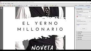 Para estas personas sentadas aquí, el sr. Descargar Novela El Yerno Millonario En Pdf Espanol 1 2534 Completo Youtube