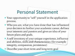 Professional Goals Statement Template   Best Template Collection Finance personal statement for university  Creating a financial mission  statement is an essential part of