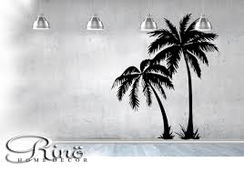 Palm Tree Decor For Bedroom Palm Tree Decal Wall Art Palmtree Vinyl Wall Stickers No