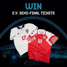 England vs Denmark at Wembley ...
