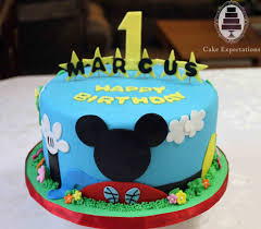 Baby Mickey Mouse Edible Cake Decorations Mickey Mouse Birthday Cake Mickey Minnie Birthday Ideas 3