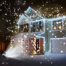 Lights That Look Like Snow Falling Us 17 82 Led Waterproof Snowfall Light Projector With Remote Control Snow Falling Light For Indoor Outdoor Christmas Halloween On Aliexpress