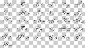 serbian cyrillic alphabet png images